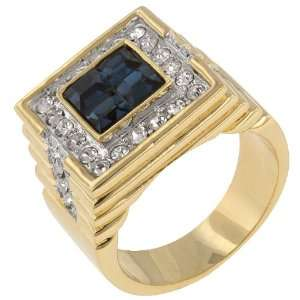 White Gold Bonded Rhodium 14k Gold Bonded Princess Cut