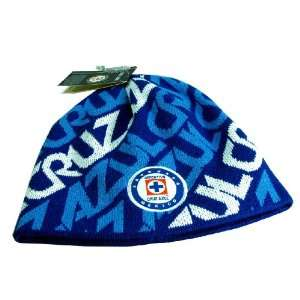 Cruz Azul Logo Beanie   005: Sports & Outdoors