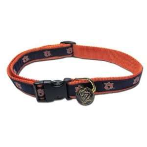 University of Auburn Tigers Dog Puppy Small Collar Officially Licensed