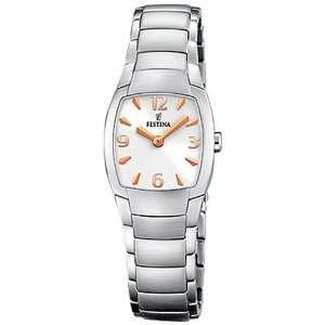 Festina Womens Trend F16366/3 Silver Stainless Steel Quartz Watch