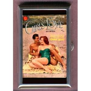 PHOTO COMIC BOOK GIRLS LOVE Coin, Mint or Pill Box Made