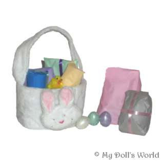 EASTER BASKET 6 PRESENTS FOR YR DOLL FIT AMERICAN GIRL