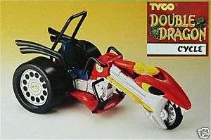 Double Dragon CYCLE w/ SECRET ROCKET LAUNCHER 1993 MIB
