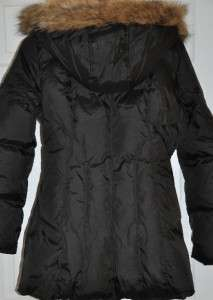 MARC NEW YORK Down COAT Quilted Womens NEW Black size M