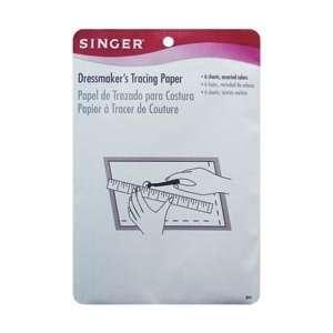 Singer Dressmakers Tracing Paper Assorted Colors 6/Pkg