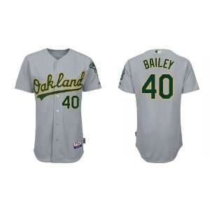 Wholesale Oakland Athletics 40 Andrew Bailey Grey Baseball