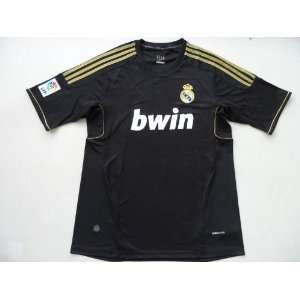 2011 2012 real madrid jersey black away soccer jerseys shirts thailand