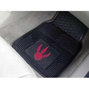 NBA Toronto Raptors 2 Piece Heavy Duty Vinyl Floor Car Mat
