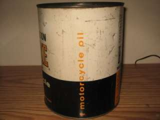 Davidson Motorcycle One Gallon Oil Can NOT Quart PRE LUXE VTG