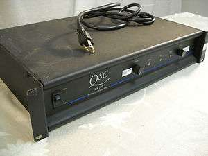 QSC MX700 Professional Stereo Amplifier
