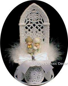 Precious Moments figures Wedding Cake topper Bride Groom Top