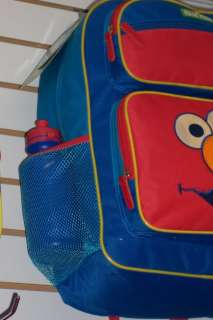 Large Sesame Street ELMO BACKPACK School Diaper Bag NWT