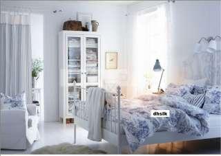IKEA EMMIE LAND Duvet COVER Pillowcases Set BLUE White TOILE 18th