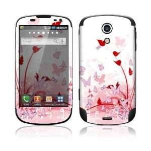 Samsung Epic 4G Skin   Pink Butterfly Fantasy Everything