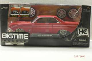 Jada BigTime Muscle (Hobby Exclusive) 1964 Ford Falcon – Red