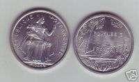 French Polinesia 2 Francs 1965 KM 3