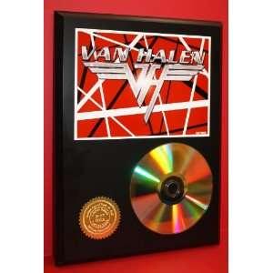 Van Halen 24kt Gold CD Disc Display   Unique Wall Art   Award Quality