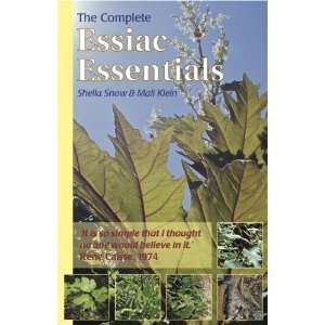 The Complete Essiac Essentials (9781899077106) Sheila