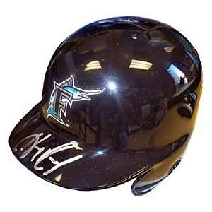 Hanley Ramirez Autographed/Signed Mini Helmet Sports