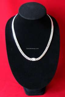 24 925 STERLING SILVER MENS CHAIN NECKLACE HEAVY&THICK