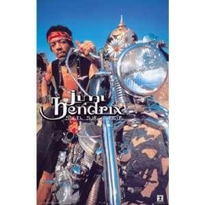 Jimi Hendrix by Unknown 22x34