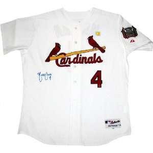 Yadier Molina St. Louis Cardinals Autographed Jersey