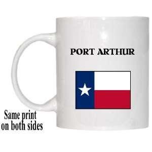 US State Flag   PORT ARTHUR, Texas (TX) Mug Everything