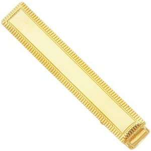 Gold Plated Tie Bar Jewelry