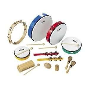 Meinl Nino Rhythm Set 12 Piece Musical Instruments
