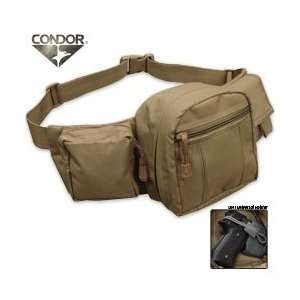 Condor Outdoor Fanny Pack with Holster Sports & Outdoors