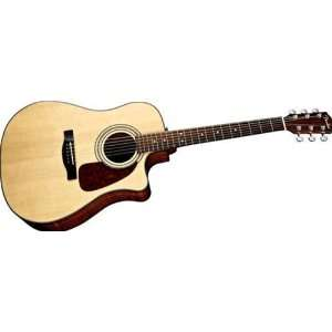 Fender CD140SCE Acoustic Electric Guitar: Musical