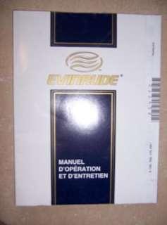 2000 Evinrude Outboard Owner Manual E 135 150 175 FFI w
