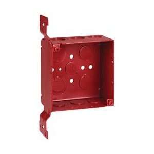 Thomas & Betts 2 1/8x4 W/cv Bkt Red Fire Alarm Box