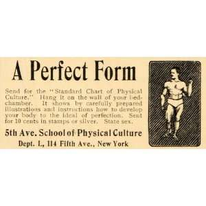 Bodybuilder Fitness 114 Fifth Ave NY   Original Print Ad Home