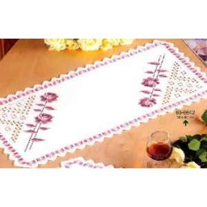 with Roses Table Runner Kit   Permin