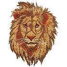 Tiger Lion Big Cat Panther Iron On Embroidered Patch