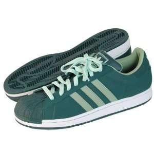 ADIDAS Mens Superstar 2 Green Basketball Shoe SZ 11.5