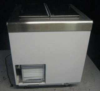 Ice Cream Freezer Dipping Cabinet W/ Flip Top Lid HD 4