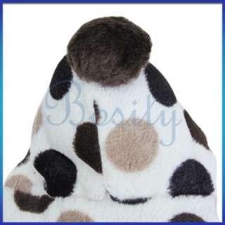 Pet Winter Warm Coat Parka Hooded Dog Fluffy Coat Jacket Clothes