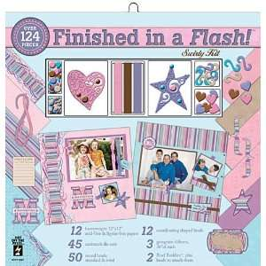 Finished In A Flash Page Kit 12X12 Swirly Arts, Crafts