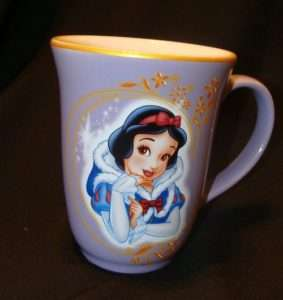 New NWT  Princess Snow White mug cup OS