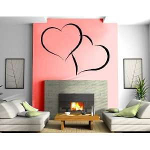 Entwined Hearts Love Valentines Day Romantic Decorative