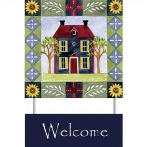 WeatherPrint 90580808 Standard Papyrus  Homespun Welcome