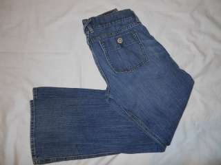 Old Navy Jeans womens size 6 low rise boot cut stretch