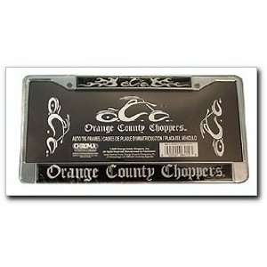Chrome Auto Tag Frame, Orange County Choppers (6415): Automotive