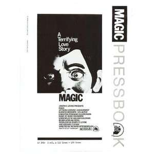 Magic Original Movie Poster, 7 x 12 (1978) Home