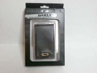 NEW OAKLEY IPOD Classic Leather Case Earth Brown
