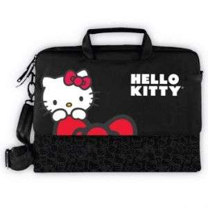 HELLO KITTY KT4335R LAPTOP CASE  BLACK