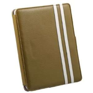 Green Leather Case Pouch Kick Stand For Apple iPad Electronics
