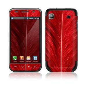 Red Feather Decorative Skin Cover Decal Sticker for